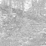 Trimmiser-Runde Ruine