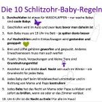 Baby-Regeln
