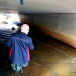 Fischerstiefel Einsatz