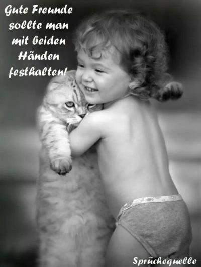 Gute Freunde sollte man