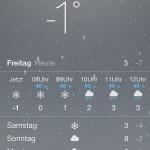 Wetterprognose Entlebuch