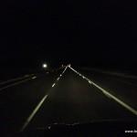 Morgen um 4 Uhr auf dem Highway