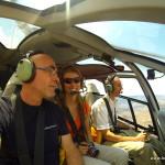 Antonio Aerni und Silvia Rieder in den Luft