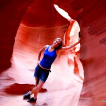 Posieren Antelope Canyon