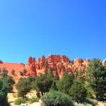 Eingang zum Bryce-Canyon