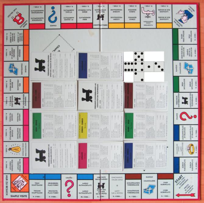 Monopoly Cache Chur