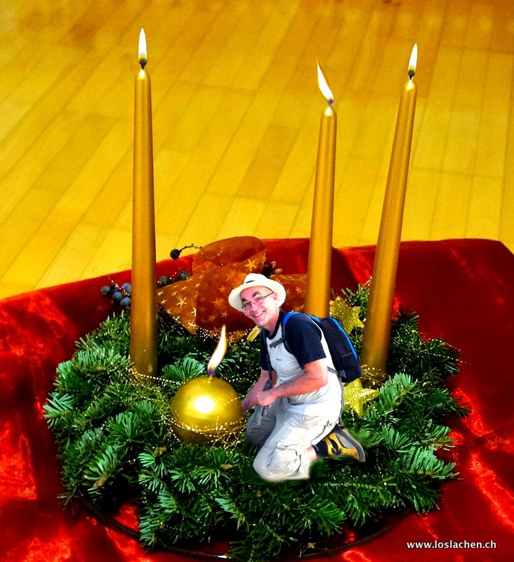 Advent lustige Geschichte 4. Weihnachten kommt