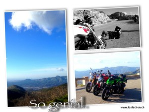 2-Motorrad Collage