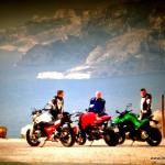 Route des Crêtes Kawa, BMW,  Ducati