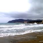 Am Strand von Diano Marina