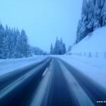 Schnee am San Bernardino