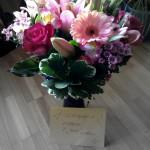 Willkommens Blumenstrauss