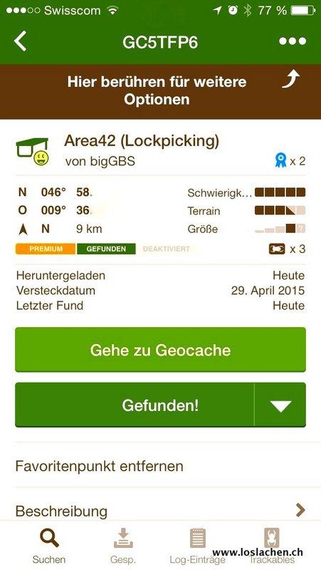 FTF bei der Area42 (Lockpicking)