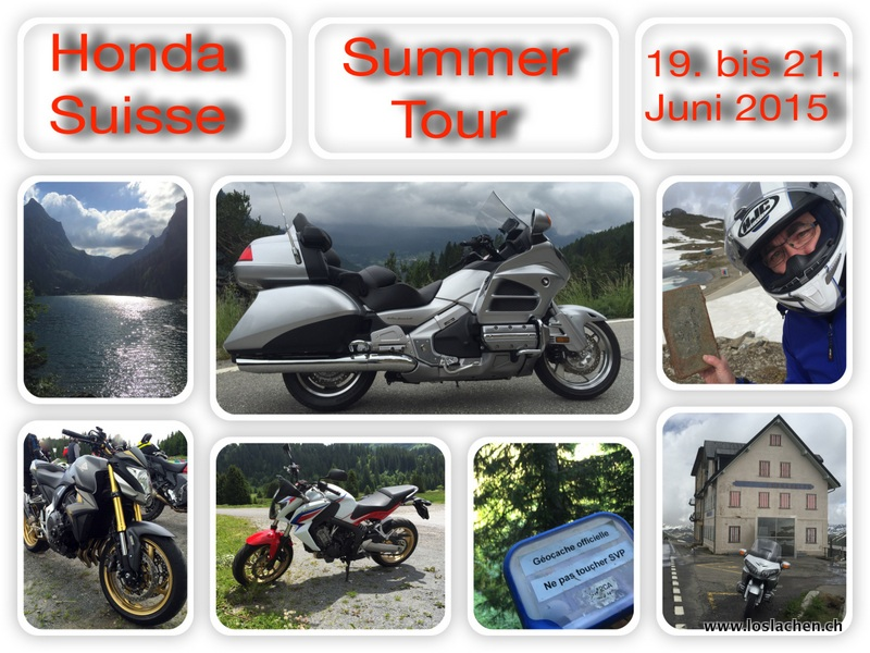 Honda Suisse Summer Tour 2015