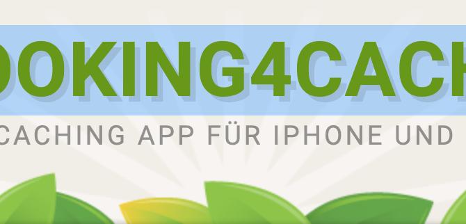 Eine tolle App zum Cachen, L4C