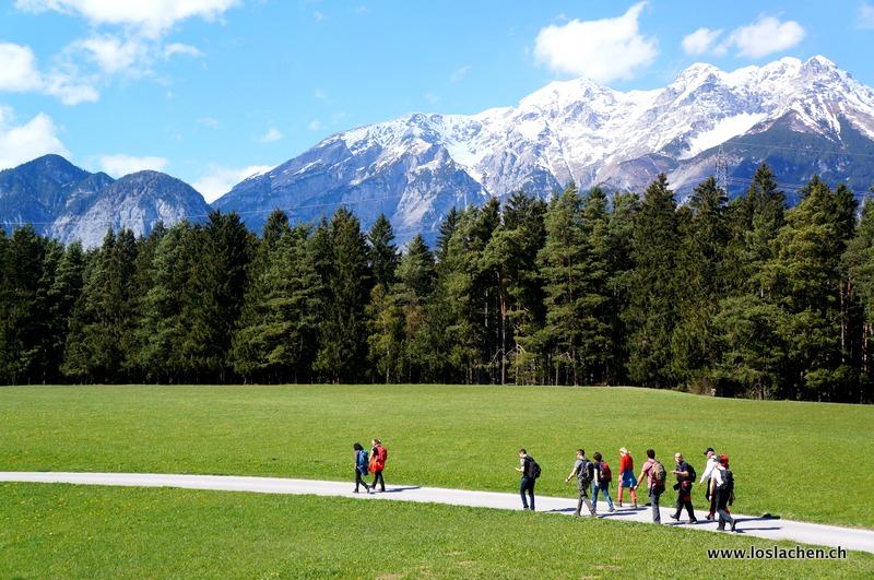 Art-Geocache bei Innsbruck