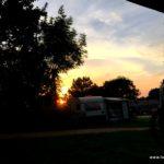 Sonnenuntergang in Vaals
