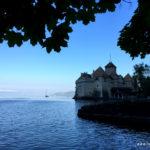 Früh morgens Schloss de Chillon