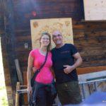 Silvia Rieder und Antonio Aerni auf der Älggialp