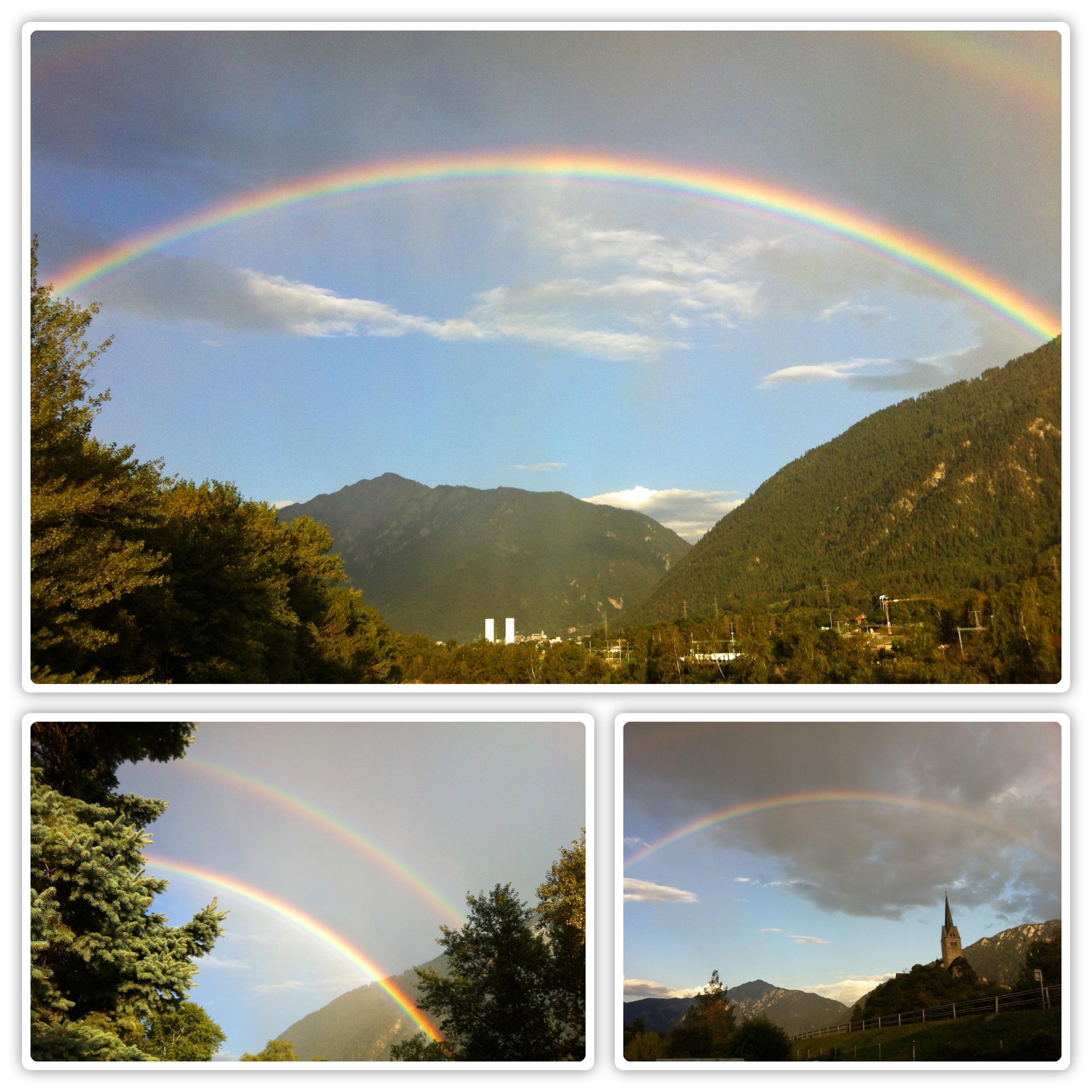 Regenbogenwetter