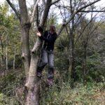 Kletterpartie von loslachen.ch Frau