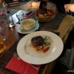 Essen im Grotto America Ponte Brolla