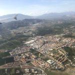 Landeanflug auf Malaga
