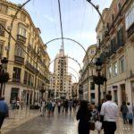Einkaufsmeile von Malaga