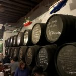 Weinfässer im El Pimpi