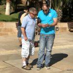 Gianfranco und Renato mit der Technik