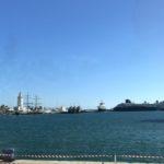 Malagas Hafen