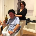 Gianfranco mit Francas Pelz