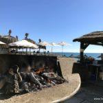 Grillstelle am Meer