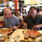 Osvaldo und Alberto Pizza