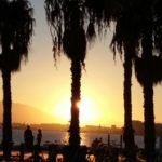 Sonnenuntergang in Malaga