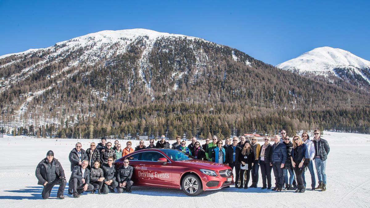 Mercedes-Benz Driving Event mit loslachen.ch