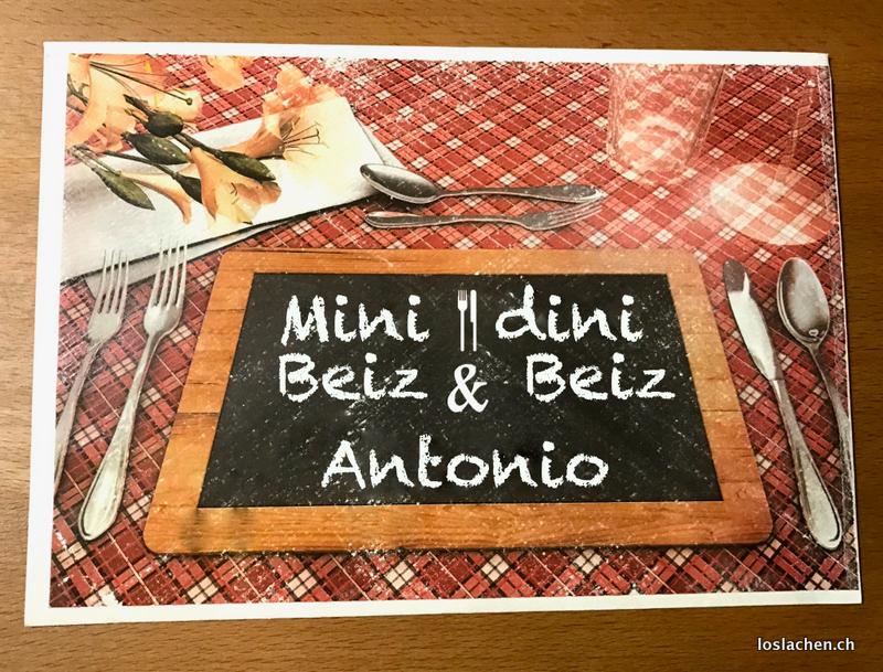 Mini Beiz dini Beiz mit Antonio