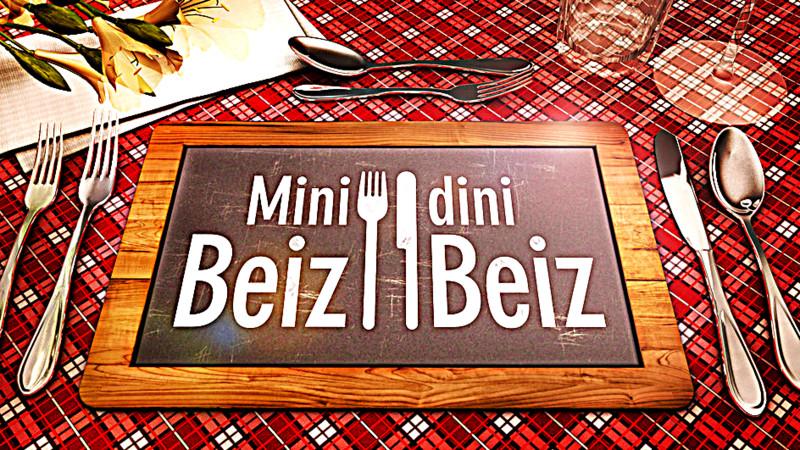 Kanton Graubünden mit Mini Beiz dini Beiz