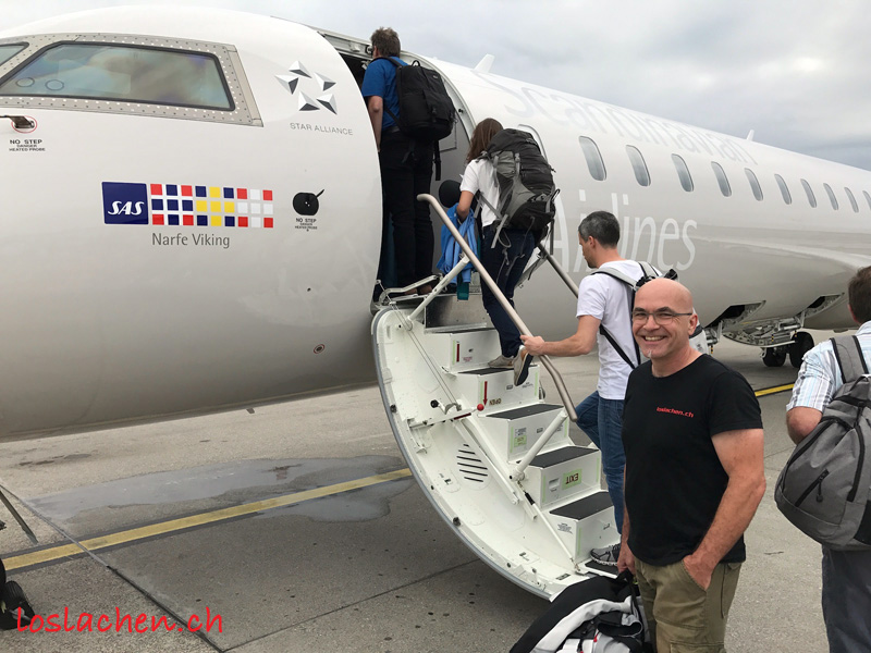 Nordkap SPECIAL Expedition… Die Anreise.