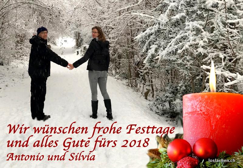 Frohe Weihnachten und einen guten Rutsch ins neue Jahr 2018!