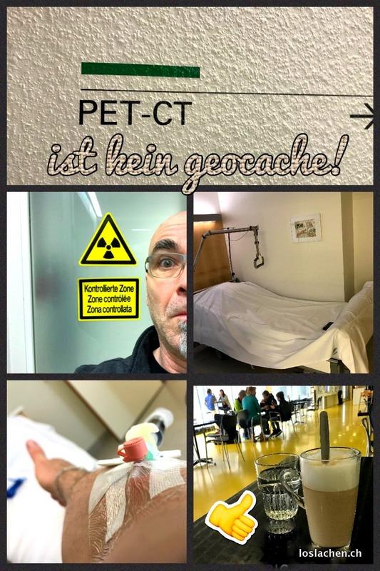 PET-CT geschafft