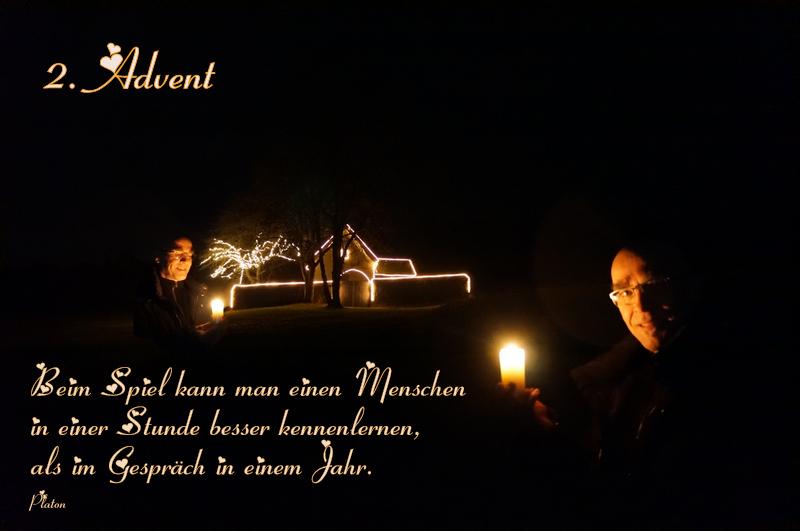 Advent, Advent, das zweite Lichtlein brennt