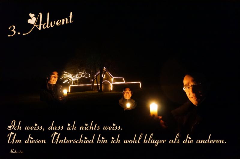 Advent, Advent, das dritte Lichtlein brennt