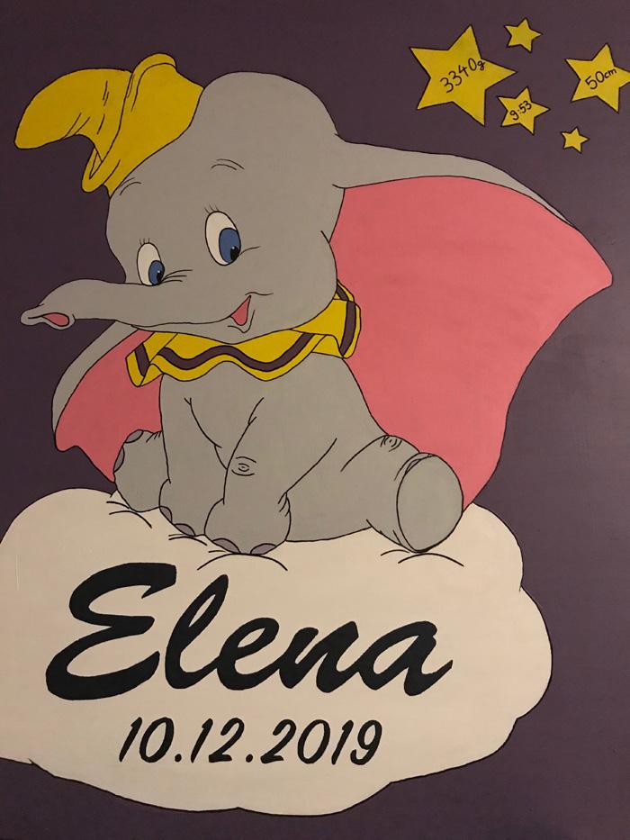 Silvias Bilder – Geburtstafel Nr.2