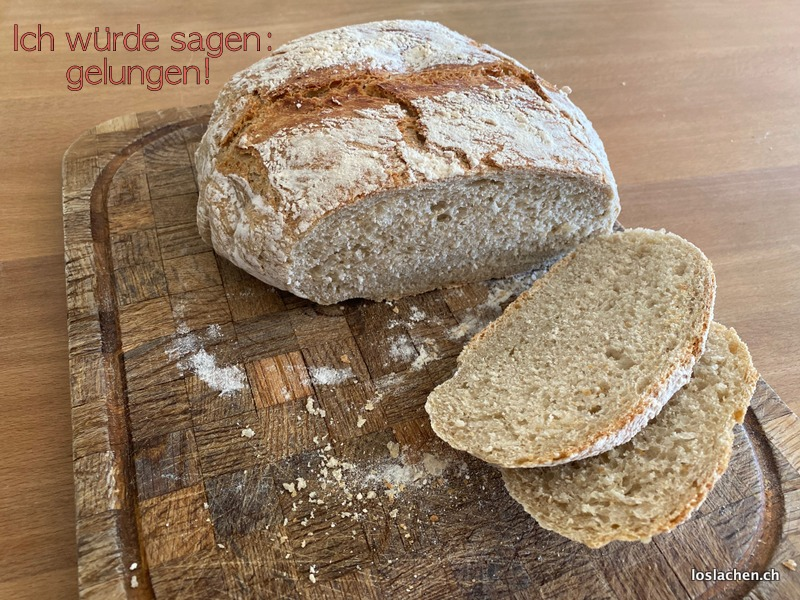 Antonios erstes Brot ein Topfbrot