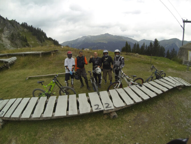 Downhill in Klosters
