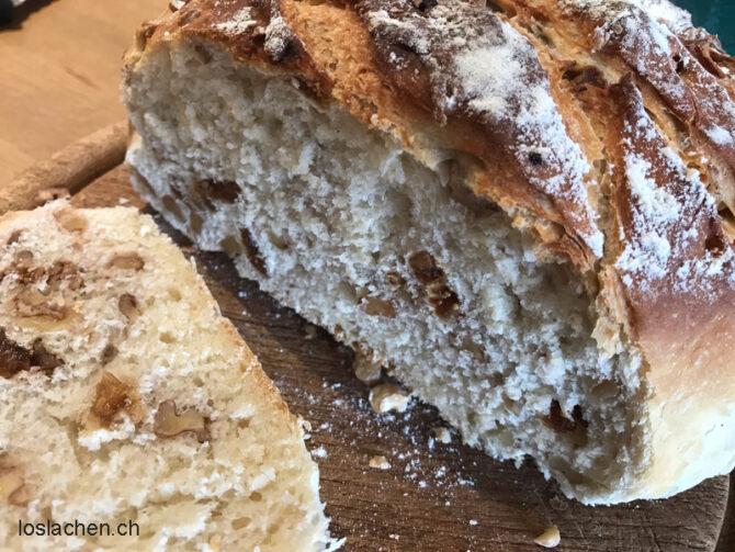 Brot Feigen-Baumnuss-Topfbrot